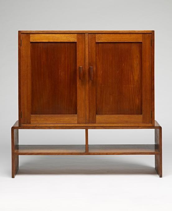 Fred Ward; Australian Hardwood Cabinet, C1935.