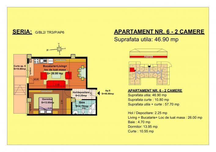 Vand apartament 2 camere, parter, zona Tractorul-Brasov  Situate pe strada Nicolae Labis nr 52, blocurile sunt construite pe un regim de inaltime de P+2 E + Mansarda, cu 2 lifturi si sunt realizate arhitectural cat sa permita acelasi grad de lumina in toate apartamentele.   Acceptam orice forma de plata: Cash, Credit Ipotecar, Prima Casa sau Rate la Dezvoltator.( cu un avans de 10000 euro- 5000 la achizitie si 5000 la mutare, rate de 600 euro, perioada maxim