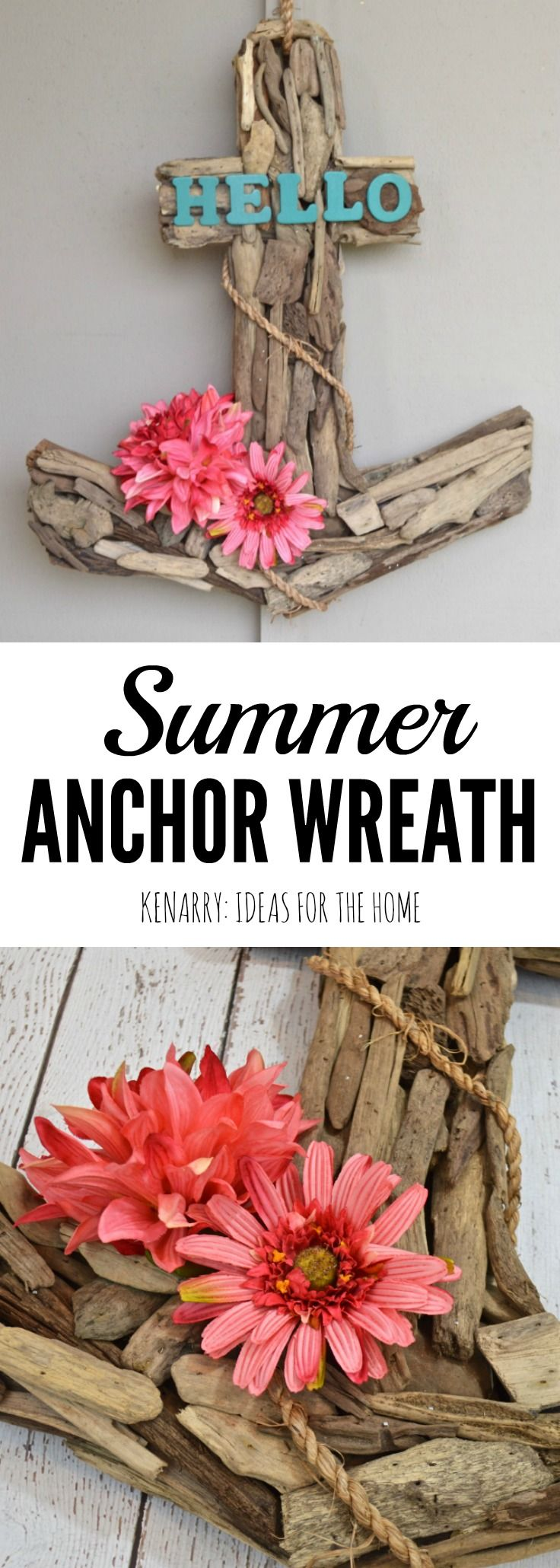 Anchor Wreath: A Nautical Decor Idea For Summer