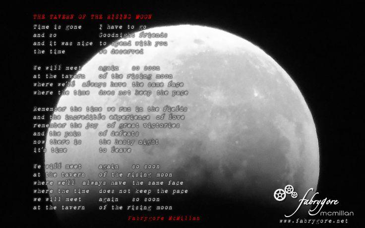 THE TAVERN OF THE RISING MOON - lyrics
