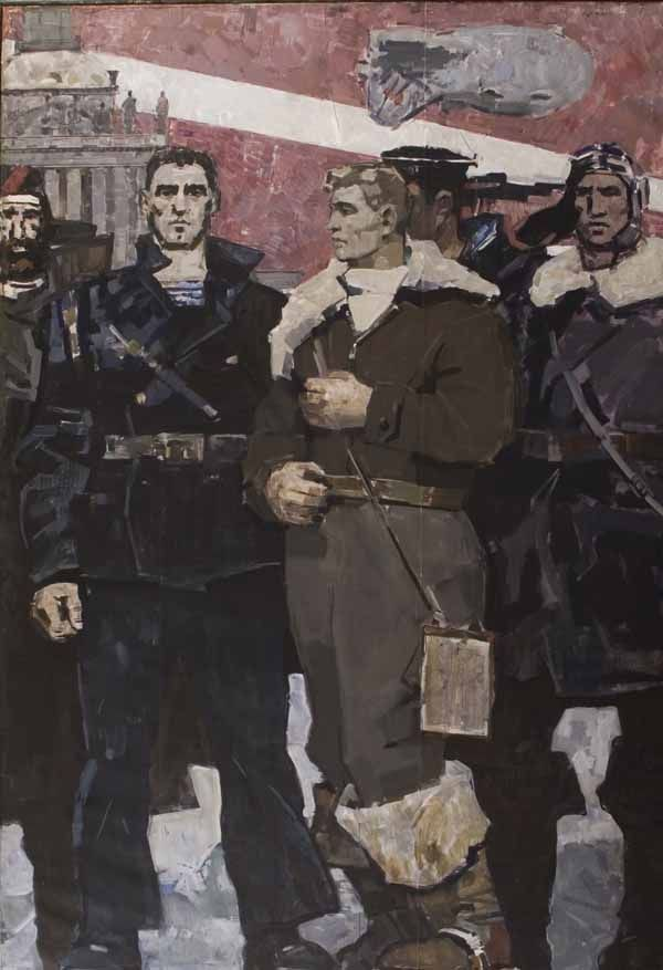Defenders of Leningrad, 1958 by Pesikov V.S.