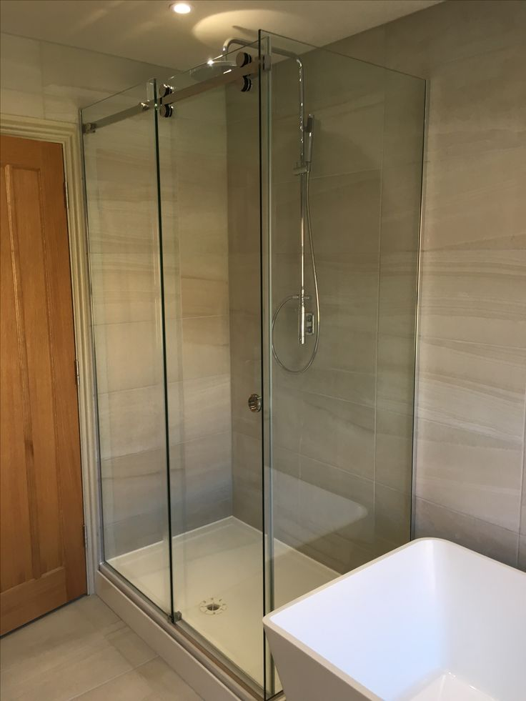 23 best Frameless Sliding Shower Enclosures by Glass360 images on ...
