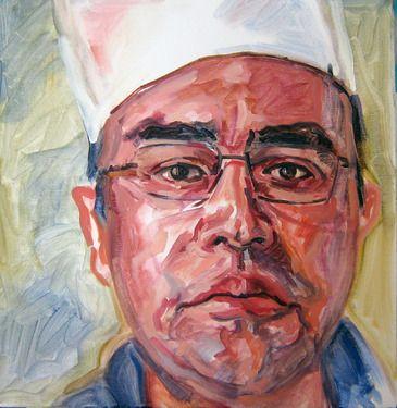 Saatchi Online Artist Andrea Araneda; Painting, Eliazar Rodriguez #art