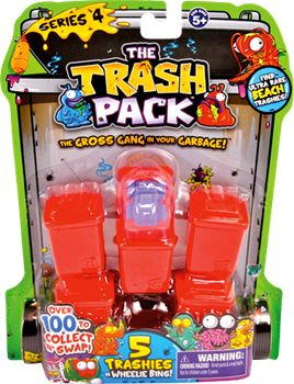 THE TRASH PACK 5-pak serie 4
