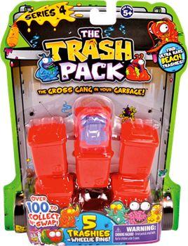 THE TRASH PACK 5-pak serie 4