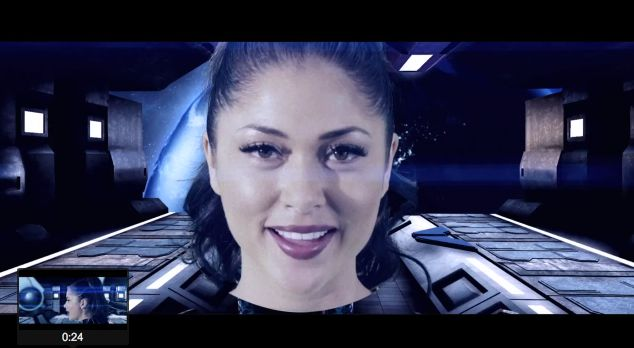"ARIANNY CELESTE ON ""TOP OF THE WORLD"" AS VOCAL STAR OF MANUFACTURED SUPERSTARS VIDEO"