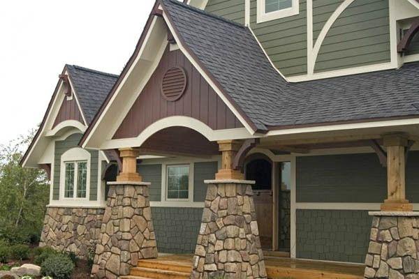Manufactured Stone Siding Cost | Home Siding Options Photo Gallery - Kudzu.com