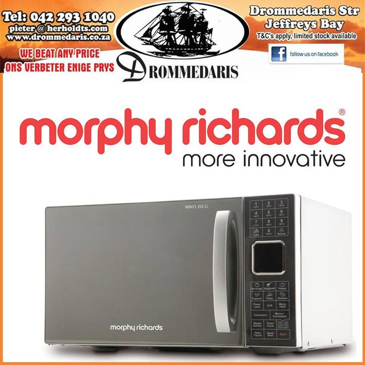 Did you know that other than their unique and popular range of retro kettles and toasters, Morphy Richards has a stylish range of microwave's? What is your opinion on this one? #lifestyle #appliances #homeimprovement