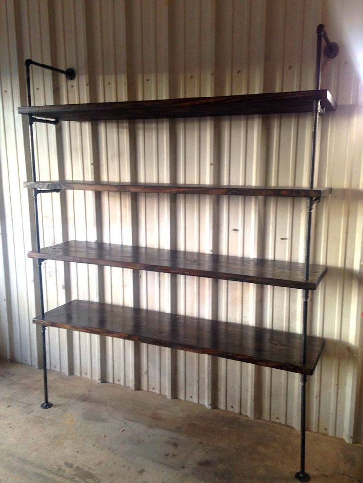 Industrial Pipe Retail Shelving