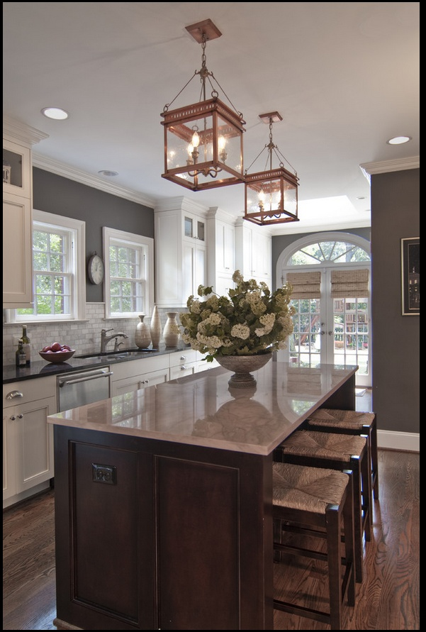 Polished Casual - <3 this kitchen