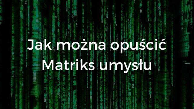 Umysł i powstające w nim myśli to ... iluzja, która dla nas jest jednak prawdą. O tym dlaczego tak jest i jak można opuścić tę iluzję możesz dowiedzieć się tutaj: http://buildingabrandonline.com/MichalKidzinski/jak-mozna-opuscic-matriks-umyslu/