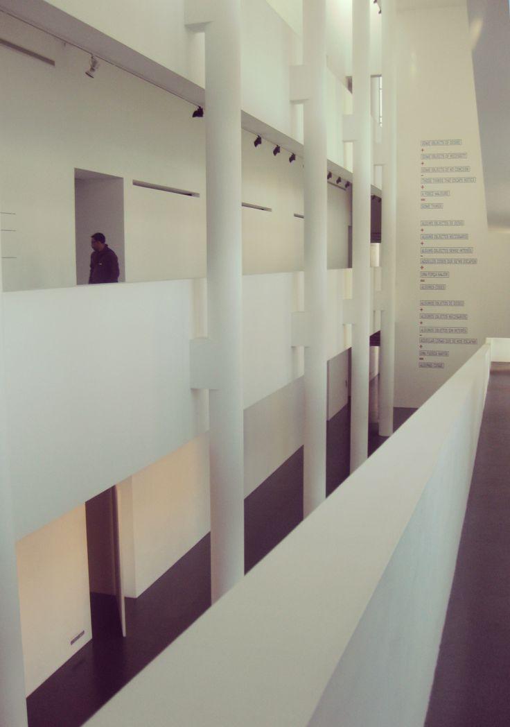 Inside Barcelona's contemporary art museum. Museu d'Art Contemporani de Barcelona (MACBA) in Barcelona, Cataluña #architecture #barcelona #spain #europe #tourist #map #bucket