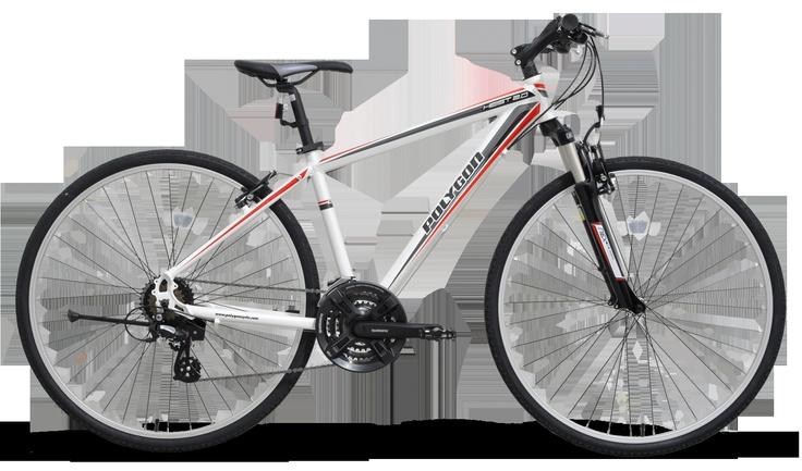 Heist 2.0, a hybrid bike from Polygon Indonesia.
