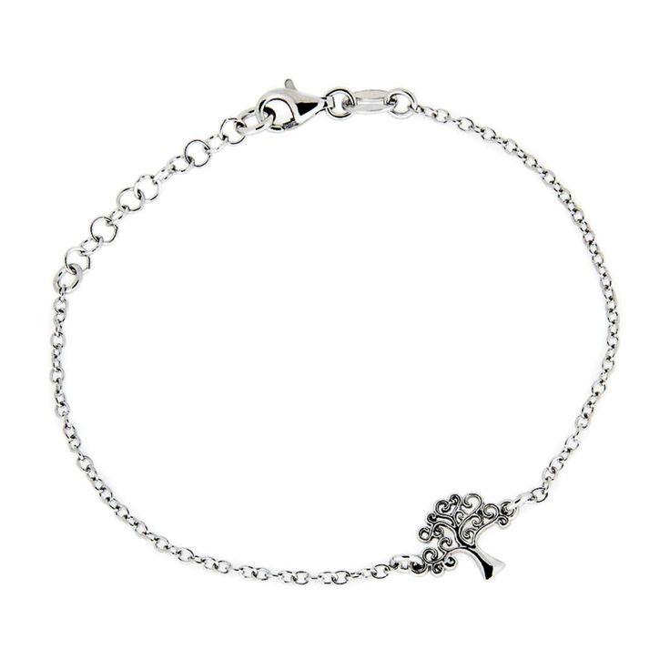 Zilveren Armband Levensboom Petite