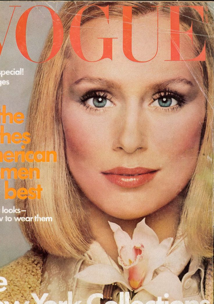Cover Model: Lauren Hutton  Photographed by: Francesco Scavullo