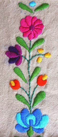 bordado colorido