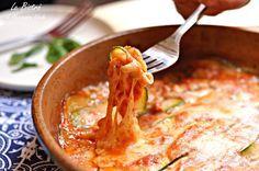 Parmigiana di zucchine in padella