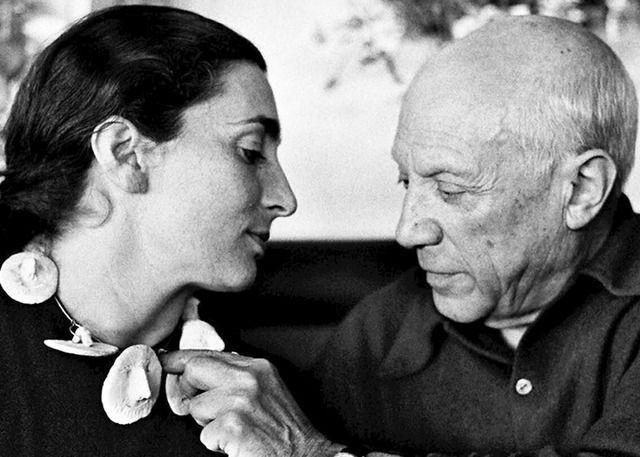 David Douglas Duncan Pablo Picasso And Jacqueline Roque Picasso