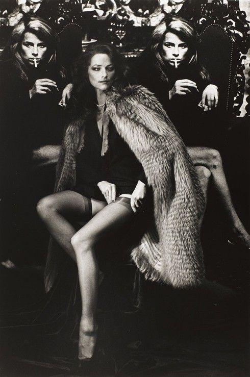 Charlotte Rampling by Helmut Newton, 1982
