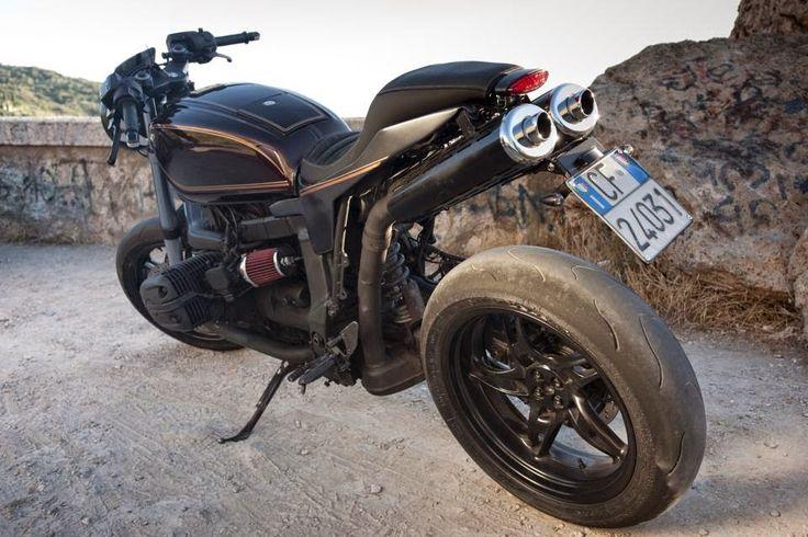rocketgarage cafe racer: miss. brown bmw r 1100 s | bmw r1200s