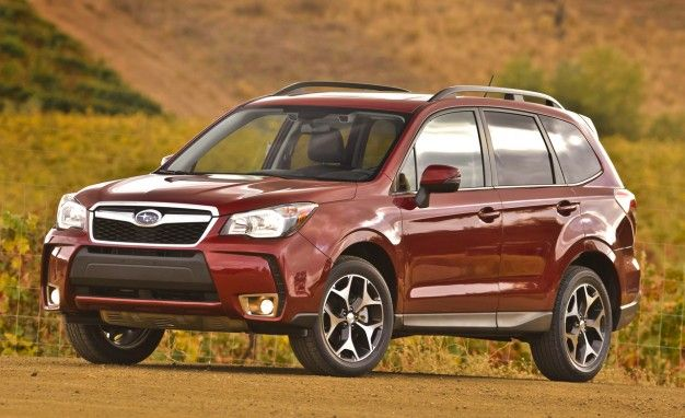 Waiting - and not patiently! Hopefully my new vehicle in a few months (in white) - 2014 Subaru Forester 2.0 XT