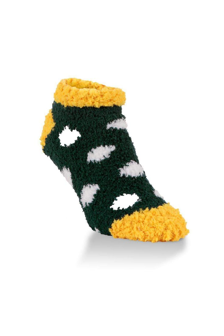 Support your favorite team in comfort with this World's Softest Team Low Rise. Whether you're at the stadium, at a local sports bar or in front of your TV, our Team Collection will have you on your feet even into overtime!   Polk a Dot Socks by World's Softest. Accessories - Socks Wisconsin