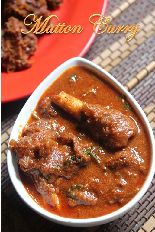 This is my go to mutton curry, it is simple to make doesn't need a whole lots of spices. Just basic but taste really yummy. I love these...