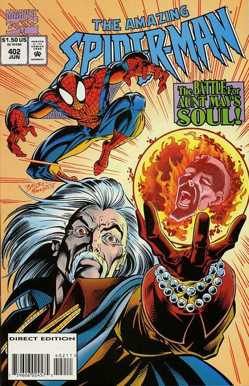 The Amazing Spider-Man (Vol. 1) 402 (1995/06) | Spiderman, Vol, Bande dessinée