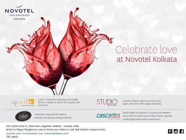 Celebrate love this year at Novotel Kolkata!