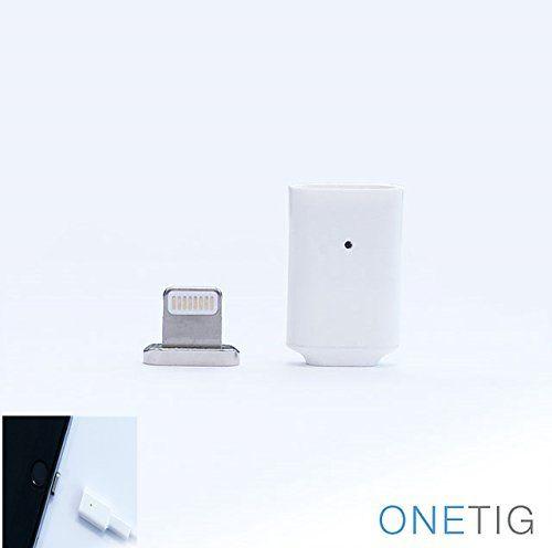 ONETIG lightning Connector Magnetic Adapter Apple USB https://www.amazon.com/dp/B01J5EW8UQ/ref=cm_sw_r_pi_dp_x_gy9SxbAXM097Z