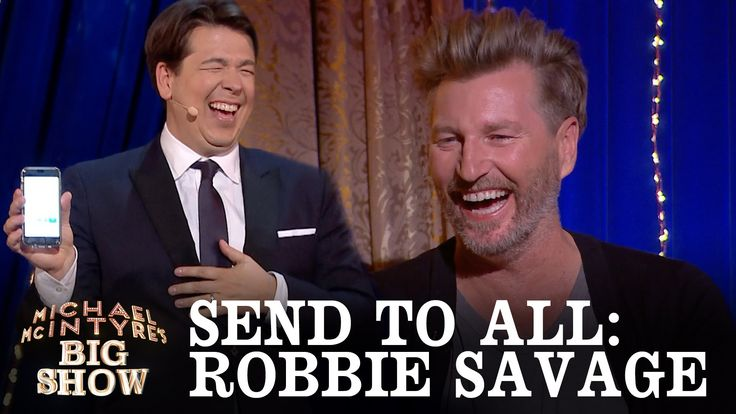 SNEAK PEEK: Send To All with Robbie Savage - Michael McIntyre's Big Show...