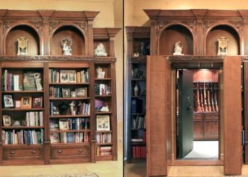 17 best images about hidden rooms hidden things secret for Hidden gun room