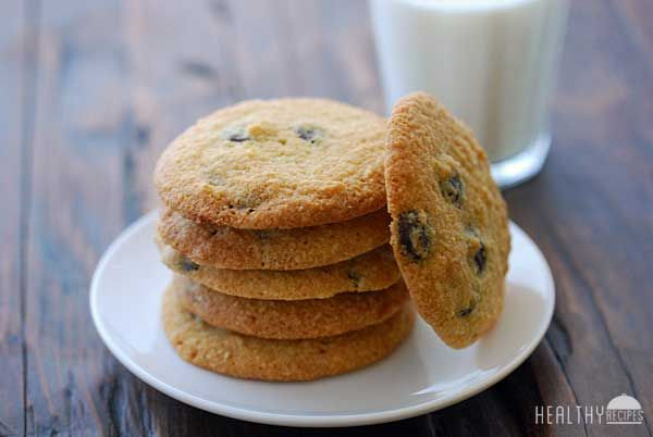 Gluten Free Chocolate Chip Cookies | Healthy Recipes Blog