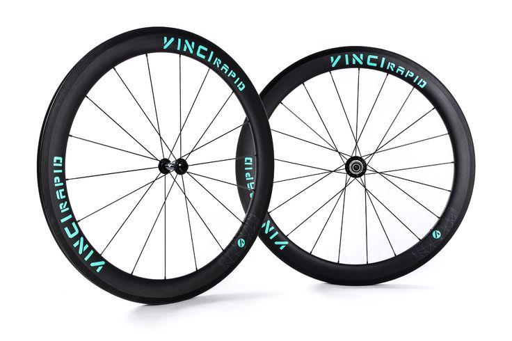VINCI RAPID 55mm tubular or clincher | VINCI - carbon road bike wheels