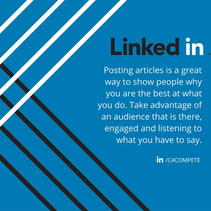 202 best linkedin images on pinterest social media marketing linkedin tip the great thing about posting on linkedin is that there is already an malvernweather Images