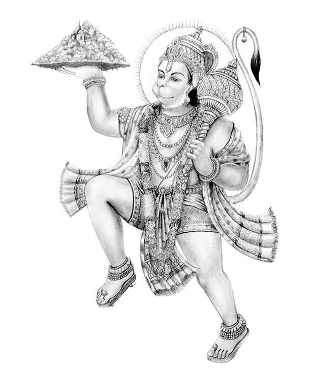 hanuman tattoo - Google Search                                                                                                                                                                                 Mais