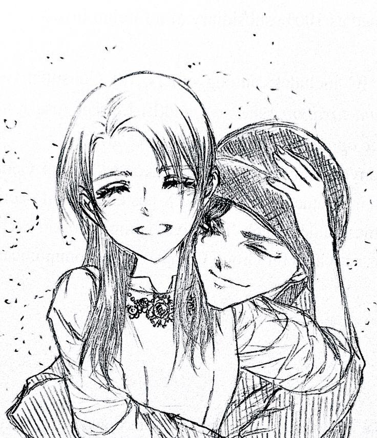 Akemi Miyano and Shuichi Akai in happiness #akemi #akai #