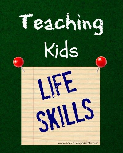 Teaching Your Middle School Kids Life Skills (money management, managing schedules, food shopping, thank you notes, and goal setting) - @Education Possible
