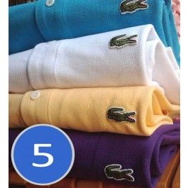 A lot of 5, Women Polo Shirt, Short Sleeve