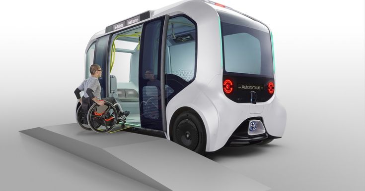 Toyota's autonomous pod to transport athletes around Tokyo 2020 Olympics