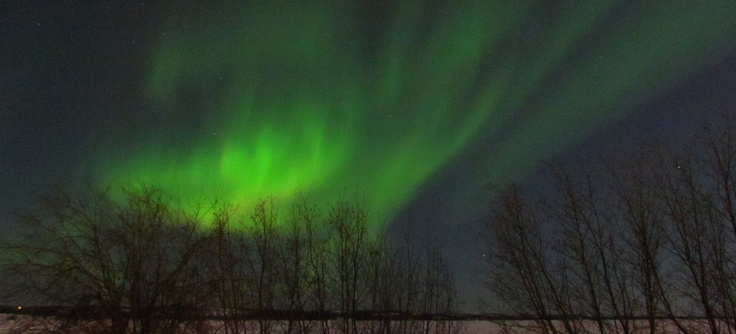 Aurora Boreal en Yellowknife