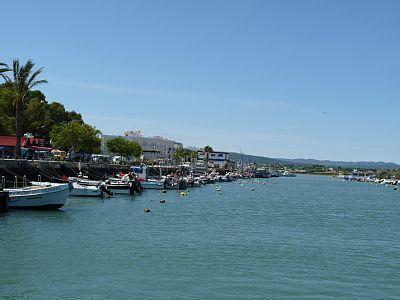 De haven van Fuseta