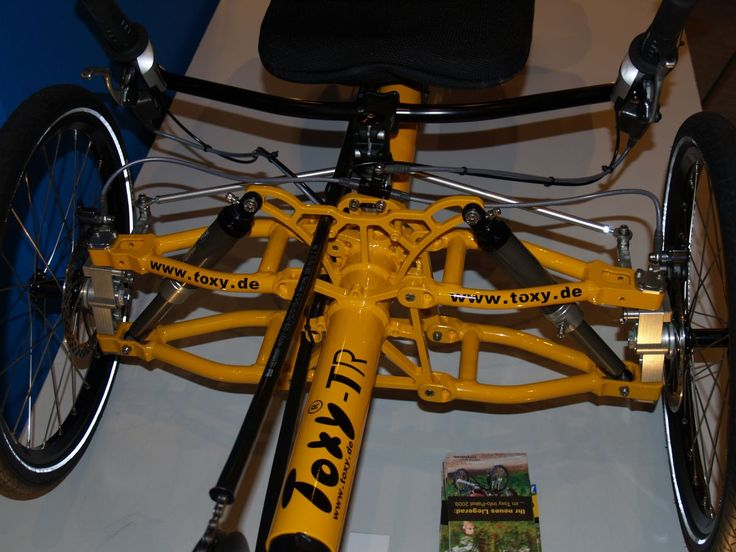 German designed recumbent trike suspension GeeK'd'Rawr