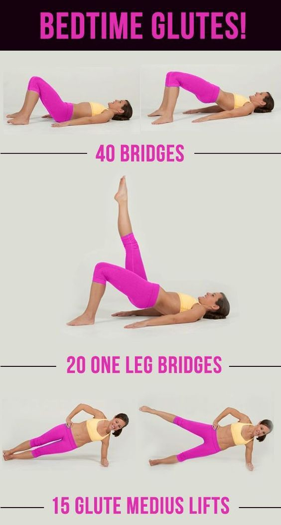 Butt Workouts For The Perfect Booty! | glutes exercises for women at home and gym