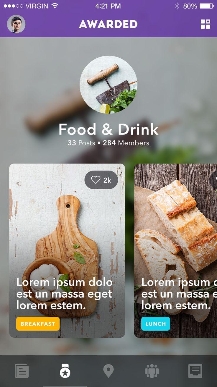 Mobile Design – Article Pages | Abduzeedo Design Inspiration  Want something lik…