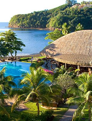 Tahiti- someday I'm coming for you!  Tough right now but it will all pay off :)