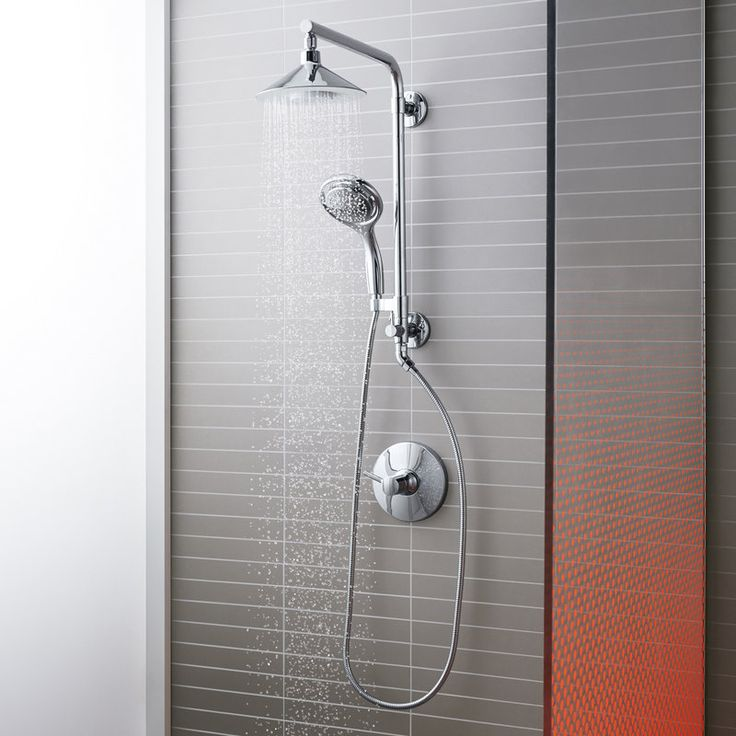 View the Kohler Moxie HydroRail Custom Shower System Moxie HyrdroRail Custom Shower System with Flipside Handshower at FaucetDirect.com.