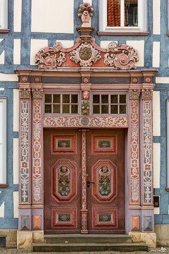 Puerta detalle Hinterstraße, Duderstadt -