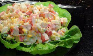 recette salade de crabe facile