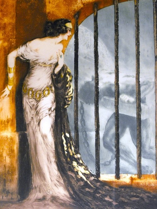Dalila - Louis Icart, 1929